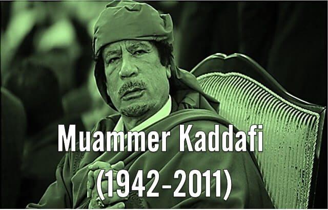 muammer kaddafi
